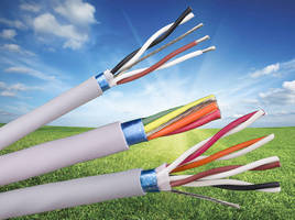 Recyclable 300 V Cable has compact, lightweight design.