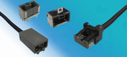 Shielded Connector can convey transmissions up to 5 Gbps/pair.