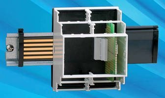 DIN Rail Enclosure Linking System hastens installation of boxes.