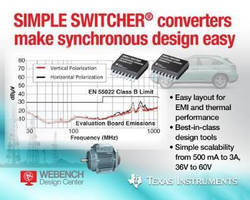 DC/DC Regulators help engineers create EMI-compliant products.