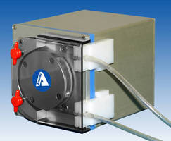 Peristaltic Pump offers user-selectable flow rates.