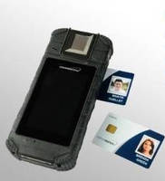 Authentication System features handheld form factor.