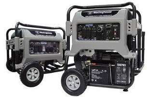 Portable Residential/Commercial Generators offer simplified use.