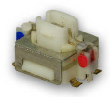 IP67-Rated Miniature Tact Switch offers illumination options.