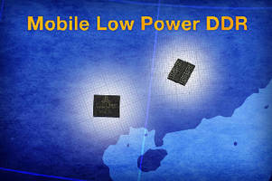 DDR SDRAMs extend battery life in portable devices.