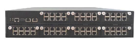 Networking Platform expands up to 56 copper/fiber ports.