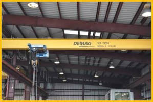 Terex Material Handling Wins Order to Provide Two Demag 25-Ton Double Girder Cranes to Omega Natchiq