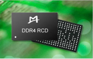 DDR4 RCD and DB Chipset increases data rates.