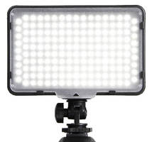 LED Video Lights fit many DSLR cameras and camcorders.