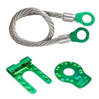 Solar Bonding Connectors feature green plating.