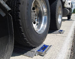 Wheel Load Scales feature solar charging.