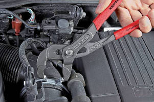 Hose Clamp Pliers feature rotatable tips for tight grabbing.
