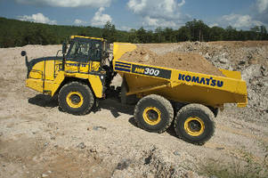 Articulated Dump Truck is powered by Tier 4 Final engine.