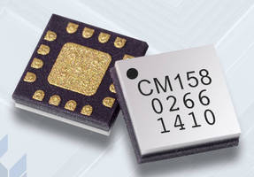 Driver Amplifier delivers 21 dB gain across 6-16 GHz bandwidth.