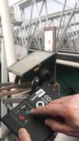Advantage Set Under Wimbledon Roof as Datapaq Measures Floodlight Temperatures