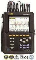 Power Quality Analyzer measures up to 5,000 ADC with probe.