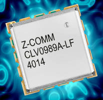 Low-Noise VCO suits base station applications.
