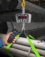 Digital Crane Scale Features Wireless Remote Control