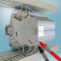 Compact Signal Conditioners facilitate configuration.
