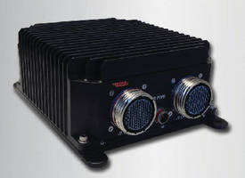 Fanless COTS Mission Computer meets military standards. .