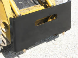 Skid Steer Plate has heavy-duty, weld-on design.