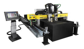 Compact, Automated Machine performs plasma and oxy-fuel cutting.