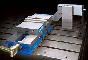 Precision 8 in. Vise reduces part setup and changeover times.