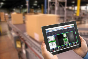 HMI Software lets user monitor inspection from web browser.