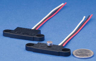 Dual Angle/Speed Sensors feature flat package design.