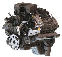 Under-the-Hood Air Compressor is available for RAM Hemi® trucks.