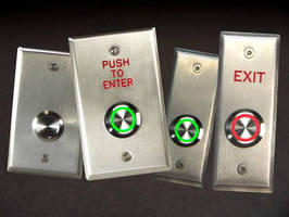 Exterior-Grade Pushbutton Switches suit high-visibility areas.