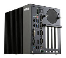 Fanless Industrial Computer combines scalability, ruggedness.