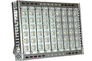 High Intensity LED Light replaces 1,000 W metal halides.