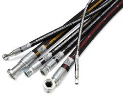 Hydraulic Hoses and Fittings meet ISO 18752 specification.