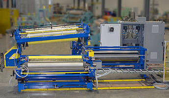 Coil Coater helps ensure operator safety.