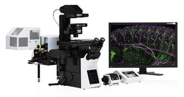 Microscope achieves up to 120 nm optical resolution.