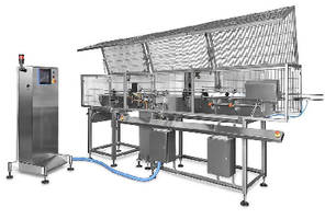 Certified-Accurate Checkweigher targets food can lines.