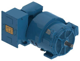 Three-Phase Induction Motors are built with open enclosure.