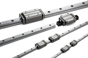 Linear Guides include self-aligning feature.