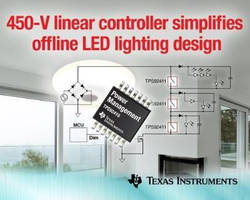 Linear Controller facilitates offline LED lighting design.