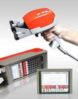 Rugged Dot Peen Marking Gun has compact, portable design.