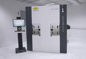 Wafer Bonding System operates in high-vacuum-process environment.