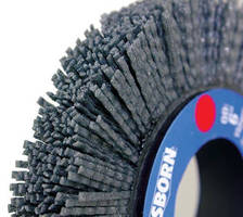 Abrasive Wheels/Disc Brushes have crimped rectangular filament.