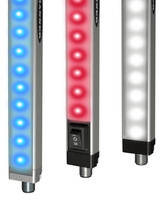 LED Strip Lights provide dual-color operation.