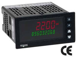Dual Display Digital Indicator accepts range of input signals.