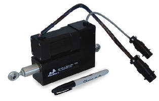 Brushless Actuator suits web guide applications.