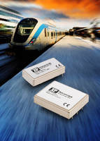 DC-DC Converters suit railway and rolling stock applications.