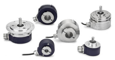 Functional Safety Encoders carry ratings up to IP69K.