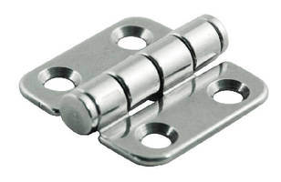 Surface Mount Hinge withstands outdoor use.