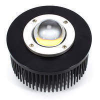 Cold Forged Round Heatsinks enhance CoB/MPCB LED heat dissipation.